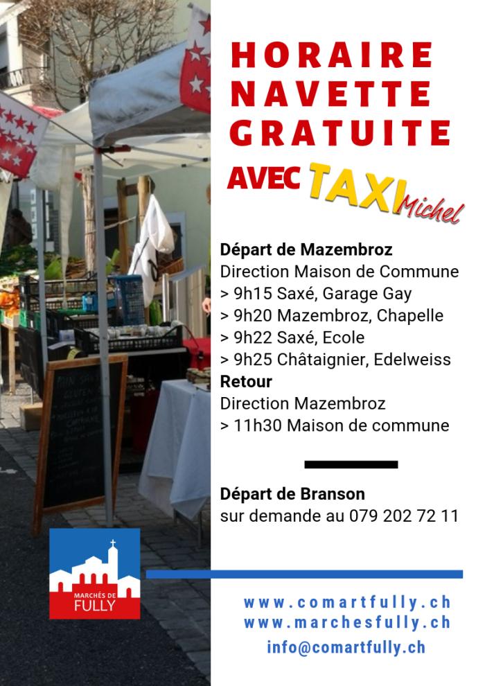 Marché hebdomadaire automne 2018